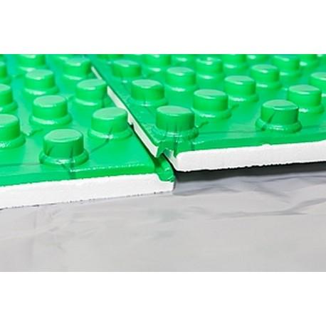 Теплоизоляционные плиты с фиксаторами.