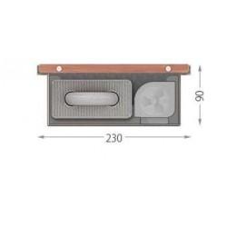 Внутрипольный конвектор FanCOIL FCF 09 mini 2000