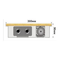 Внутрипольный конвектор FanCOIL FCF 09 1250