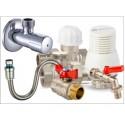 запорная арматура, фитинги, трубы, ППР (полипропилен)  и шланги